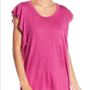NWT Free People dimple tee top